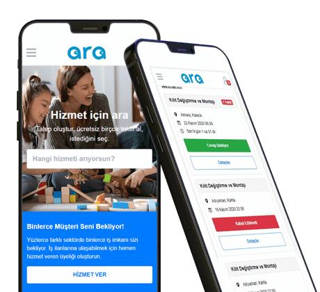 ara.com.tr mobil uygulamasını indir.